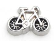 Cherityne Bike Floating Charm for Locket Pendants