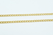 New Gold Filled Chain 18K Size 2mm for Jewellery Making GFC43 Sold by Foot