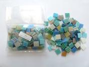 Hakatai Glass Tile 1.9cm - 0.5kg Rainbow Light AB 10