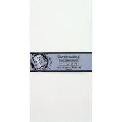 Fundamentals Cardmaking Unscored Cardstock 14cm x 28cm 20/Pkg-White