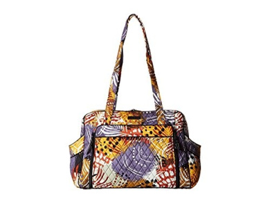 Vera Bradley Stroll Around Baby Bag Painted Feathers Nappy Bags