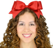 Red Headband Bow Snow White Inspired Satin Ribbon Lolita Hair Accessory Handmade by Sweet In The City USA
