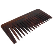 Golddachs Afro Comb Rosewood 13cm 6843