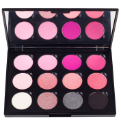 Coastal Scents Think Pink EyeShadow Makeup Palette, 250ml