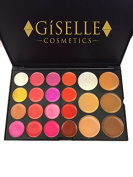 GISELLE COSMETICS MULTI LEVEL EYE SHADOWS AND FACE BLUSH/ BRONZER MAKEUP PALETTE