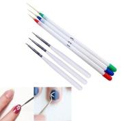 Alonea 6PCS Nail Art Design Set Dotting Painting Drawing Brush Pen Tools