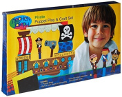 Pirate Puppet Craft and Play Set by Toys+
