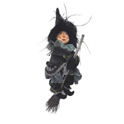 Witches of Pendle - Anne Redfearn Witch Flying (Grey) 24cm