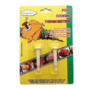 Butchers-Sundries 2 x New Pop Up White Meat Timers for Chicken and Turkey / Timer / Thermometer