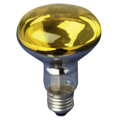 ELECTROVISION Yellow 60 W ES/E27 Very High Quality R080 Reflector Lamp