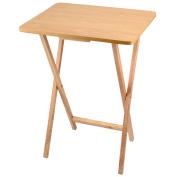 Folding Wooden TV Table