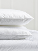 Home Bedding Store One Pair Super Microfibre Bounce Back Pillows Soft as Goose & Down, Soft to Medium Support Sale Price Whilst Stocks Last