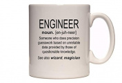 Engineer - Definition - Funny Profession Design - Great Gift Idea - Tea / Coffee Mug / Cup
