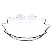 Pasabahce 32cm Pastry Cake Biscuit Cookie Serving Plate Flat Platter
