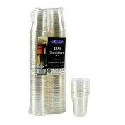 100 Tumblers 25cl (250ml) Crack Resistant
