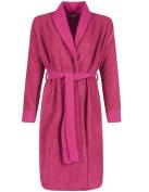 Pastunette 7062-376-0-212 Women's Pink Fleece Dressing Gown Robe