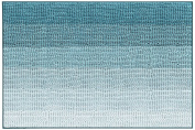 Harman Gradient Microfiber Chenille Bath Mat, Aqua