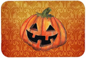 "Caroline's Treasures SB3020CMT ""October Pumpkin Halloween"" Kitchen or Bath Mat, 20"" by 30"", Multicolor"