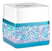 Popular Bath Tammi Aqua Bath Collection - Bathroom Waste Basket