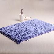Ustide Lavender Area Rug New Shaggy Rugs Non Slip Bath Mat Chenille Bath Rug Large Bath Mat Non Slip Rugs for Kitchen,Foyer 80cm x 120cm