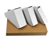 Golden State Art, Pack of 100, Adjustable Cardboard Corner Protector for Picture Frames