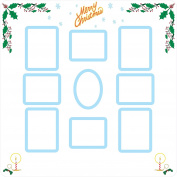 FRAME IT! Christmas Collage Reusable Picture Frame Stickers by Sideline Hobby