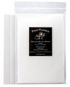 Polly Plastics Heat Moldable Plastic Sheets - 3 Sheets, 8 x 12 x 1/16