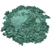 Aquarius / Green Luxury Mica Colourant Pigment Powder Cosmetic Grade Glitter Eyeshadow Effects for Soap Candle Nail Polish 30ml