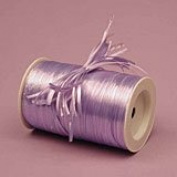 Krafty Klassics 1 Roll of Coloured Pearlized Raffia Ribbon (0.6cm x 100 Yds)