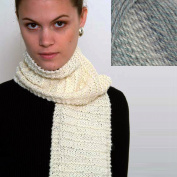 """""""Beginner's Scarf"""" Knit Kit with Encore Worsted COLORSPUN Yarn - OCEAN DRIFT"""