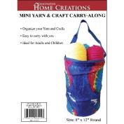 Mini Yarn & Craft Carry-Along 20cm x 30cm -Blue Tie Dyed