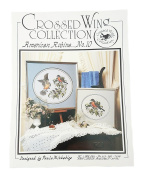 Crossed Wing Collection American Robins Counted Cross Stitch Pattern Booklet