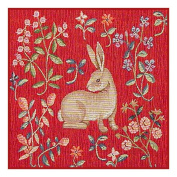 BOGO SALE-Mediaeval Resting Rabbit Detail from Lady and the Unicorn Tapestries Counted Cross Stitch Pattern