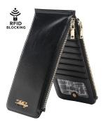 Aitbags RFID Blocking Women Bifold Multi Card Organiser Wallet Card Case Purse