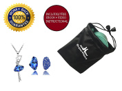Ballet Stretch Band by Superflexx with Nylon Bag & Necklace Set for Dancing, Rhythmic Gymnastics, Workout, Exercise & Physical Therapy, Firm Resistance Elastic Rubber Bands so Get Your Flex On