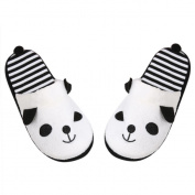 Shoes,BeautyVan Lovely Cartoon Panda Home Floor Soft Stripe Slippers Female Shoes