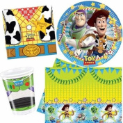 Toy Story Party Tableware Pack for 8 by Party Bags 2 Go