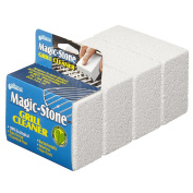 Compac Magic Stone Grill Cleaner Scouring Brick, Grease, 4 Count