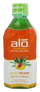 Alo, Juice, Aloe Vera And Mango, Pack of 12, Size - 11.8 FZ, Quantity - 1 Case