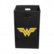 Wonder Woman Folding Laundry Bin, Black