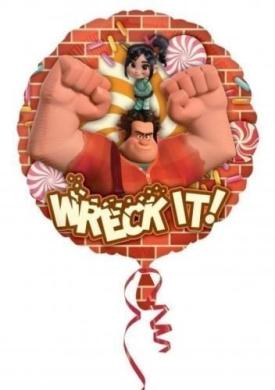 Wreck It Ralph 46cm Foil Balloon - Wreck It! by Wreck-It Ralph