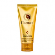 Cleomee Premium Donkey Snowy Foam Cleansing 100ml[3.38 Oz]Moist,donkey milk