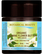 ORGANIC JASMINE OIL BUTTER 100 % Natural / VIRGIN / UNREFINED / RAW 8 Fl.oz.- 240 ml. For Skin, Hair and Nail Care.