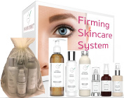 Firming Beauty Set - Firming Skincare System - Have Firmer Skin By Tomorrow With This This Six Step Facial-From-Home Skin Firming System - For Estheticians, Spa, Skincare Professionals Or For Home Use