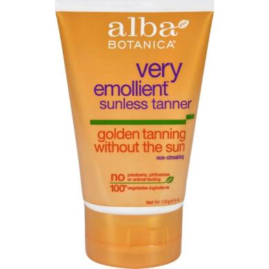 Alba Botanica Very Emollient Sunless Golden Tanning Natural Formula - 120ml