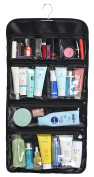 WODISON Foldable Clear Hanging Travel Toiletry Bag Cosmetic Organiser Storage