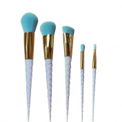 Alonea 5PCS Make Up Foundation Eyebrow Eyeliner Blush Cosmetic Concealer Brushes