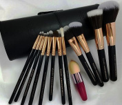 Sigma Great Quality, Lower Price. MyLondon Luxury Japanese Polyester/Hair Professional Quality Long-Lasting Easy-Clean Make Up Brush Set + Free Latest Blending Applicator