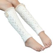 OVERMAL Women Lace Crochet Knit Leg Warmer Boot Socks Toppers Cuffs
