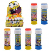6 x SPONGEBOB SQUAREPANTS BUBBLES Party Bag Fillers Childrens outdoor Summer toy by Henbrandt